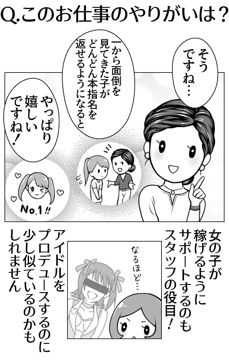 シンデレラグループ女性内勤スタッフ漫画5