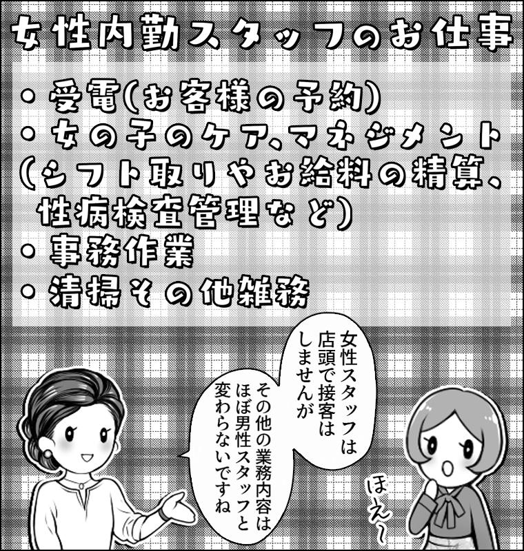 シンデレラグループ女性内勤スタッフ漫画4