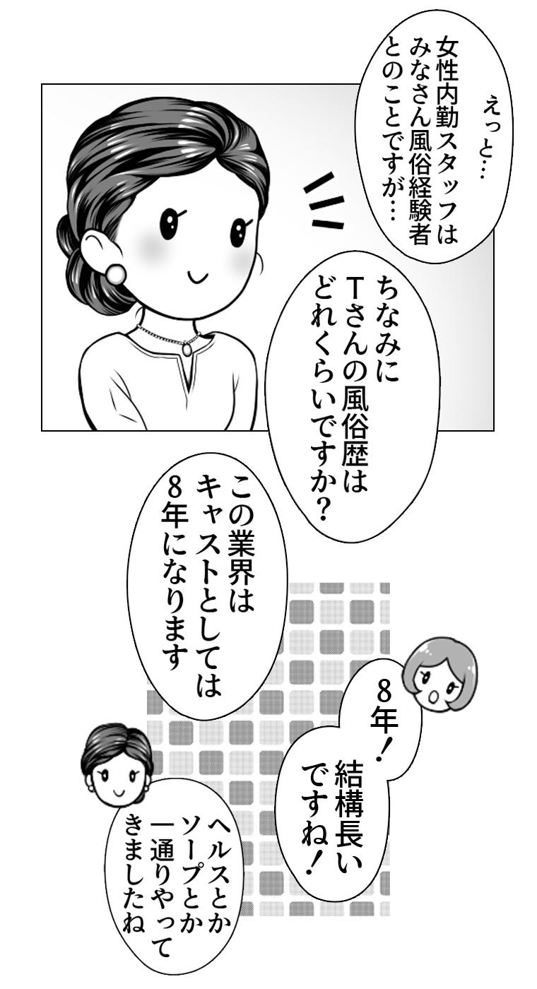 シンデレラグループ女性内勤スタッフ漫画2