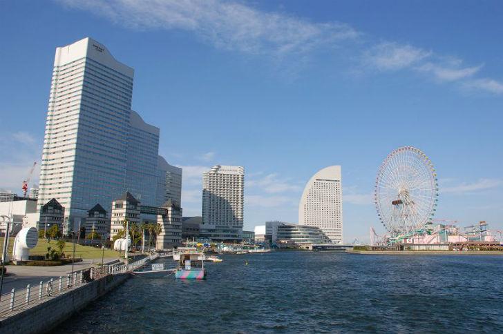 稼げる風俗バイトがたくさんある横浜の景色1