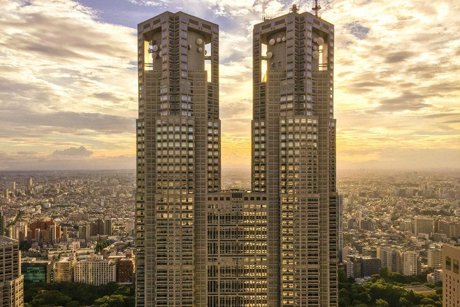 風俗求人が盛んな新宿のシンボル「都庁」