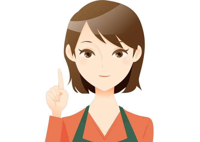 人妻風俗のバイトで働く女性1