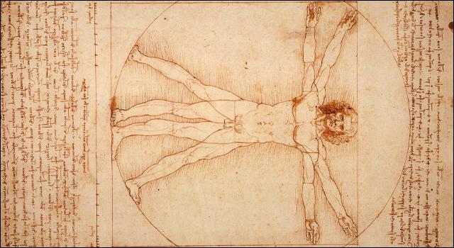 オタク女子も参考にできるダ・ヴィンチの人体図
