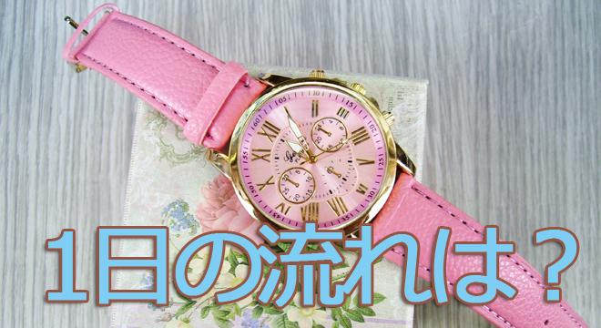 風俗嬢の時計